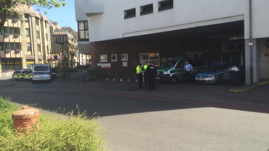 Bombenalarm Krefeld
